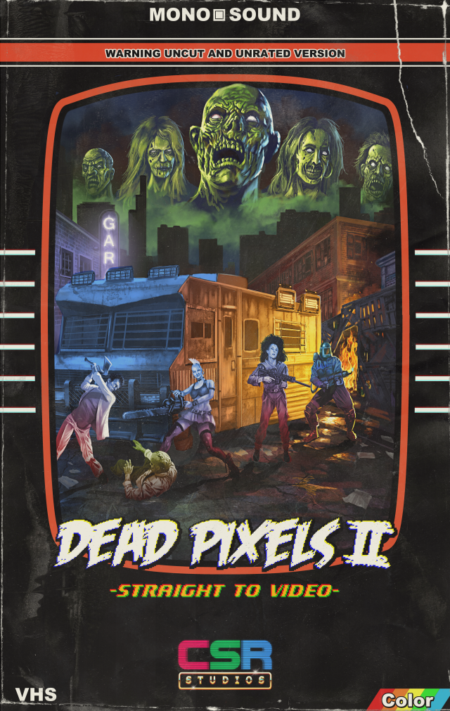 Dead Pixels II:straight to video.